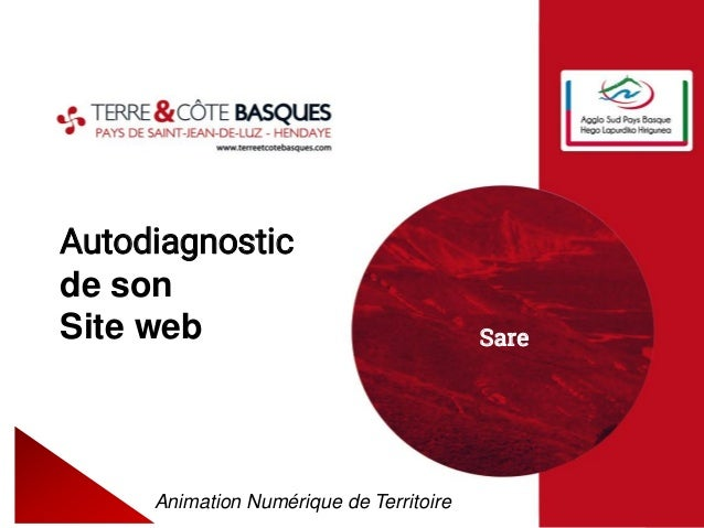 Autodiagnostic de son Site web Animation Numérique de Territoire Sare