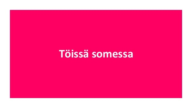 """""""Mitä  useammin  yleläiset  kertovat  omasta  arkipäivästään   työssään,  sitä  enemmän  suomalaiset  ..."""