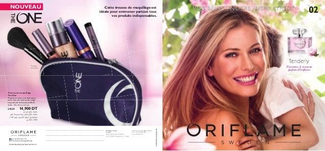 02VOS RÊVES , NOTRE INSPIRATION™ 02 Découvrez le nouveau parfum d'Oriflame Produits non inclus Cette trousse de maquillage ...