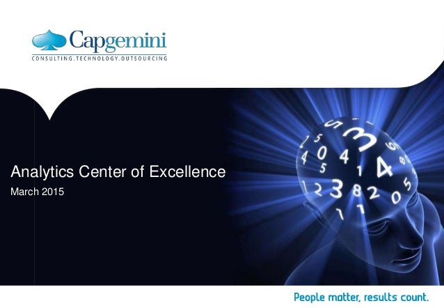 Analytics Center of Excellence March 2015