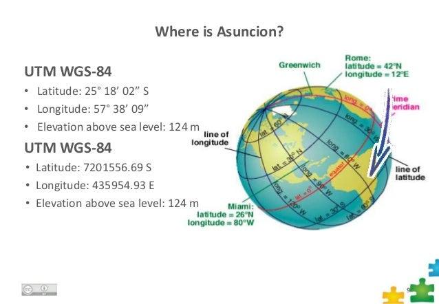 JRC GHA Live Presentation Maps GISs And SDIs - Where is asuncion