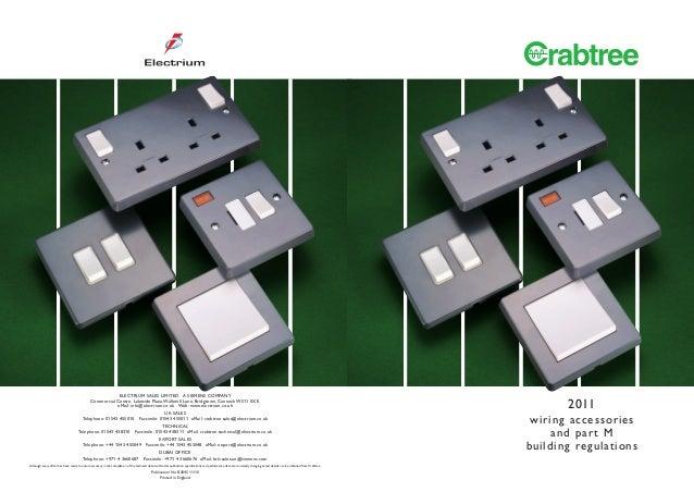 crabtree part m accessories rh slideshare net MK Catalogue Wiring Accessories Home Audio Wiring Accessories