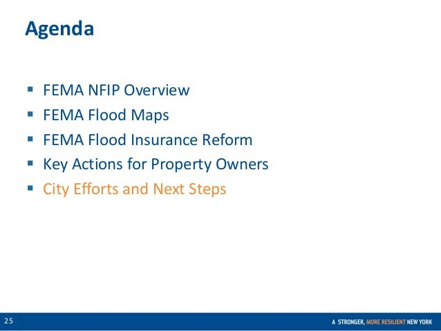 Fema Flood Insurance Quote Stunning Executive Summary Flood Insurance In Nyc