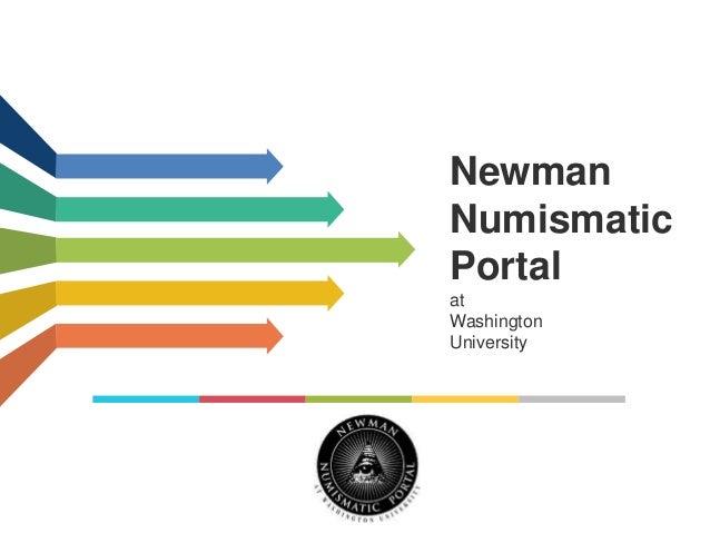 Newman Numismatic Portal at Washington University