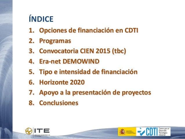 20150324_Taller ITE_Alberto Bermejo_CDTI Slide 2