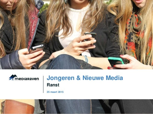 Ranst Jongeren & Nieuwe Media 25 maart 2015