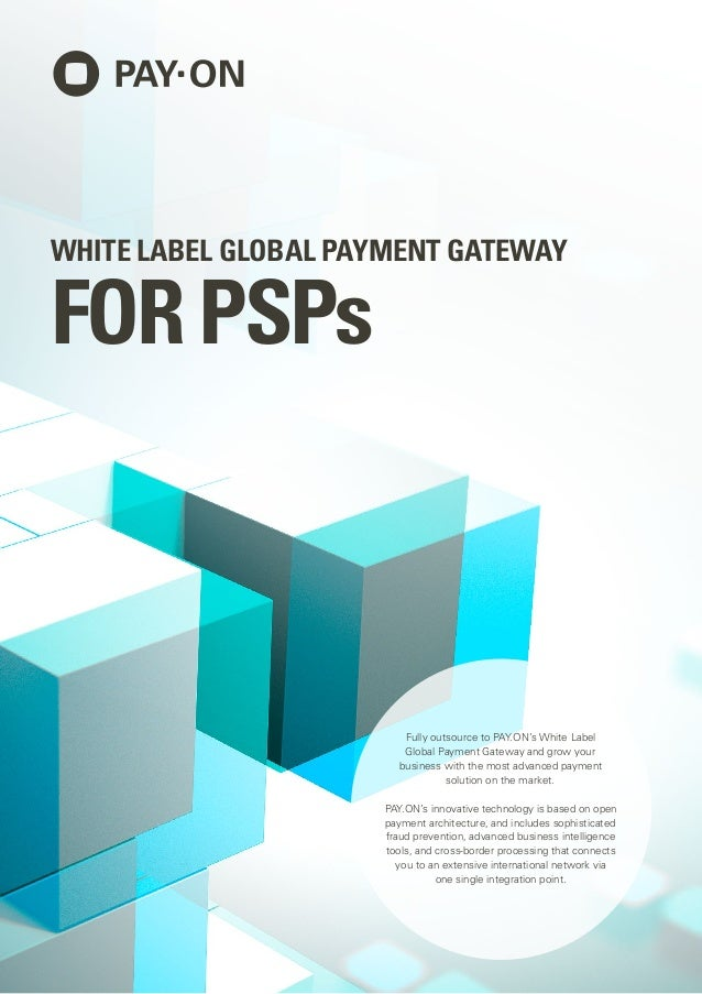 White label global payment gateway for PSPs