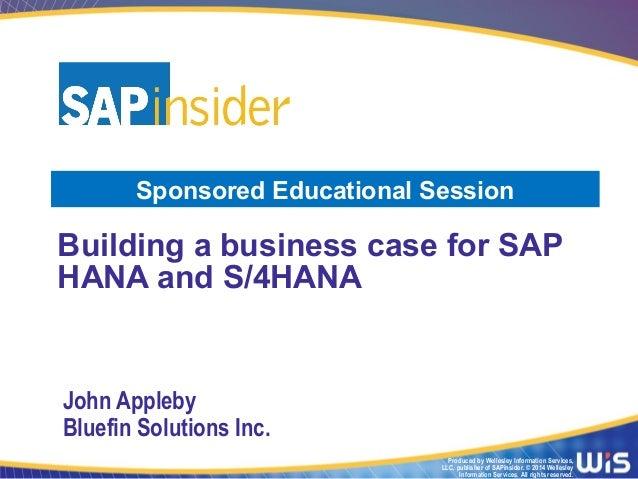 Building The Business Case For Sap Hana 638 Cb Golden Rules Improve Linkedin Conversion