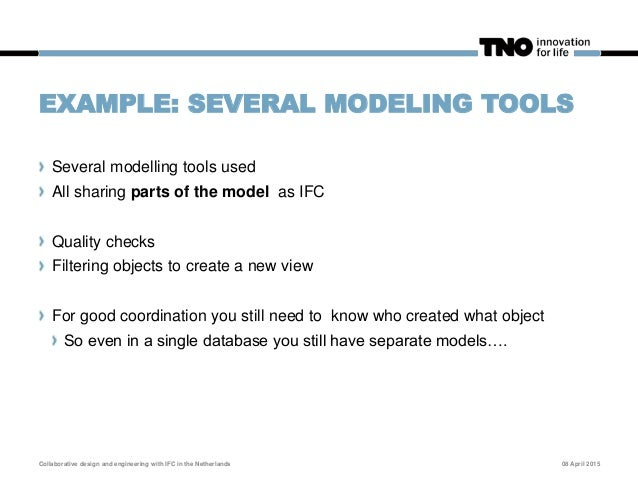 EXAMPLE: CONTRACTOR USING SUPPLIER MODELS Architectural and Construction model as a base Suppliers deliver IFC models to r...
