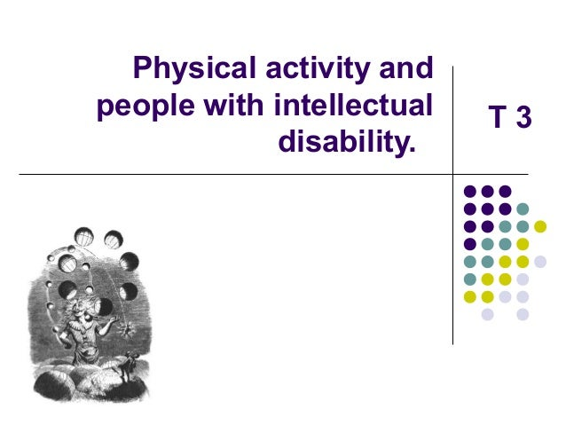 activity adult disability intellectual