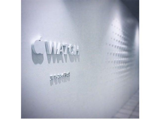時計産業との比較 • 世界の時計産業は、 466.5 億ドル (4 兆 6650 億円 ) ~ 600 億ドル (6 兆円 ) • Apple2014 年通期売上 1,827 億 9500 万ドル ( 18※ 兆 2,795 億円 ) • Ap...
