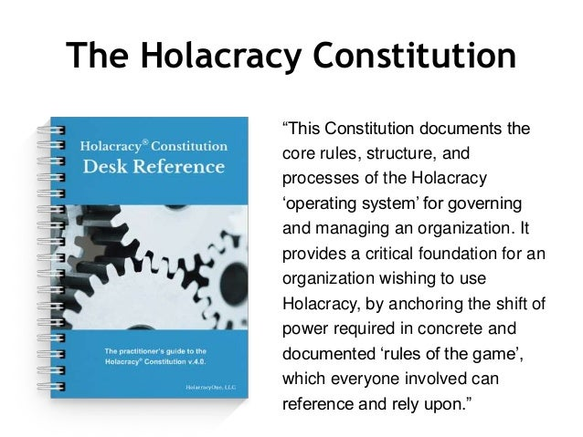 Introduction to Holacracy