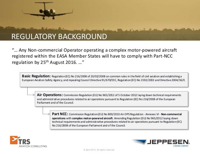 37c438a71e9 EASA Requirements for Non-Commercial Operators