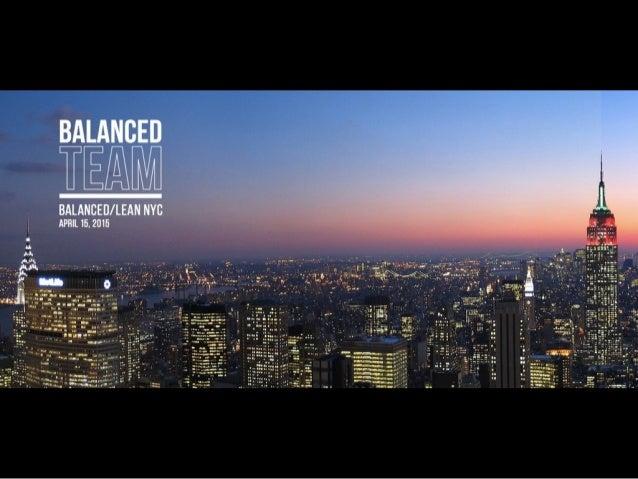 @thinknow @balancedteam Balanced Team Salon LeanUX NYC 2014