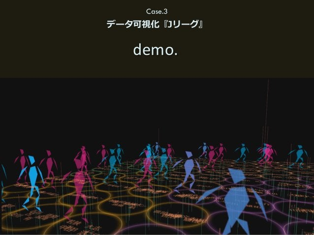 45(C) HAKUHODO DY MEDIA PARTNERS 2015 Case.3 データ可視化『Jリーグ』 demo.