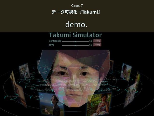 92(C) HAKUHODO DY MEDIA PARTNERS 2015 demo. Case. 7 データ可視化『Takumi』