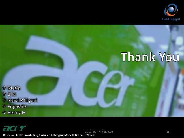 Fast Food Business Model Acer