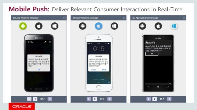 Mobile Push: Deliver Relevant Consumer Interactions in Real-Time