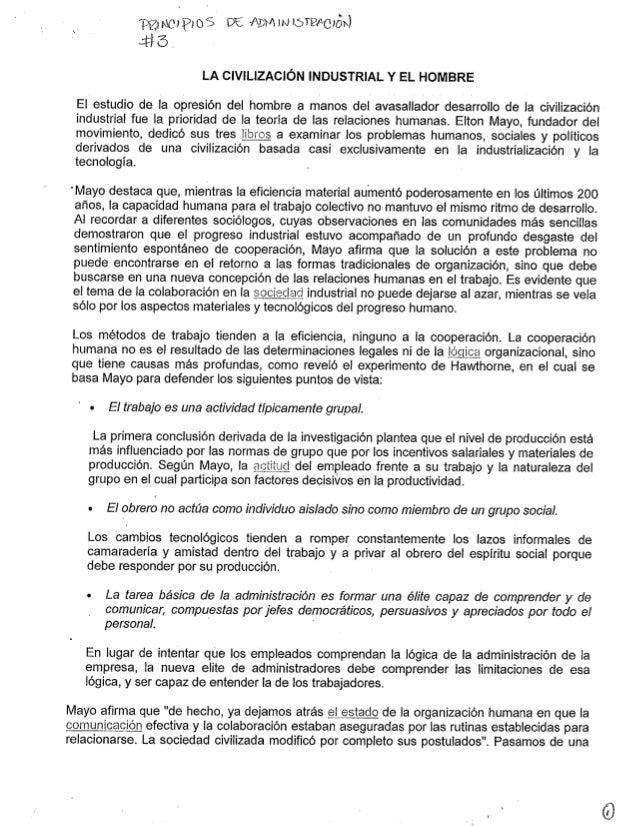 ;É , topics DÊ ALM w iarizecióix) : Fl õ .   LA CIVILIZACÍÓN INDUSTRIAL Y EL HOMBRE  El estudio de la opresión del hombre ...