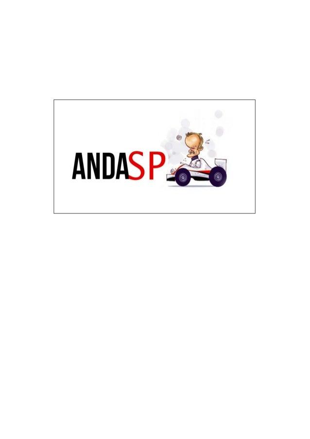 TAP - Termo de Abertura do Projeto Projeto ANDA SP Descrição Desenvolvimento de um plano de mobilidade urbana para o munic...