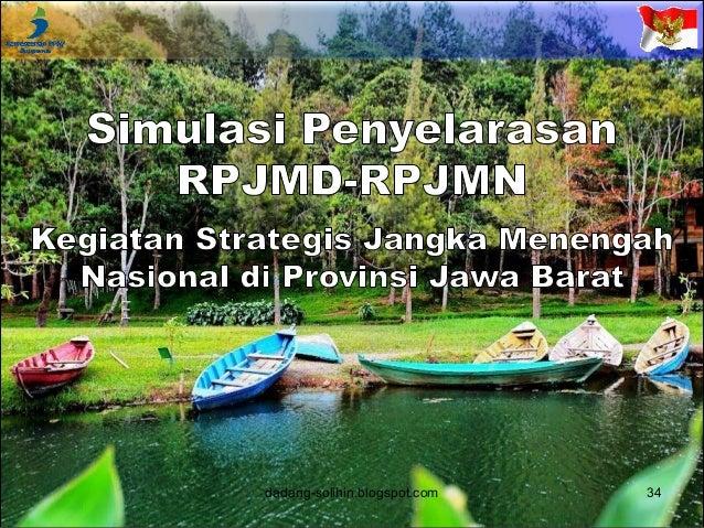 Perkeretaapian Diperuntukkan bagi Pengangkutan Penumpang dan Barang dadang-solihin.blogspot.com 35 RPJMN RPJMD Jabar RPJMD...