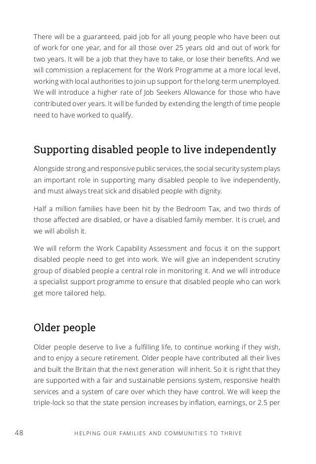 personal manifesto essay examples