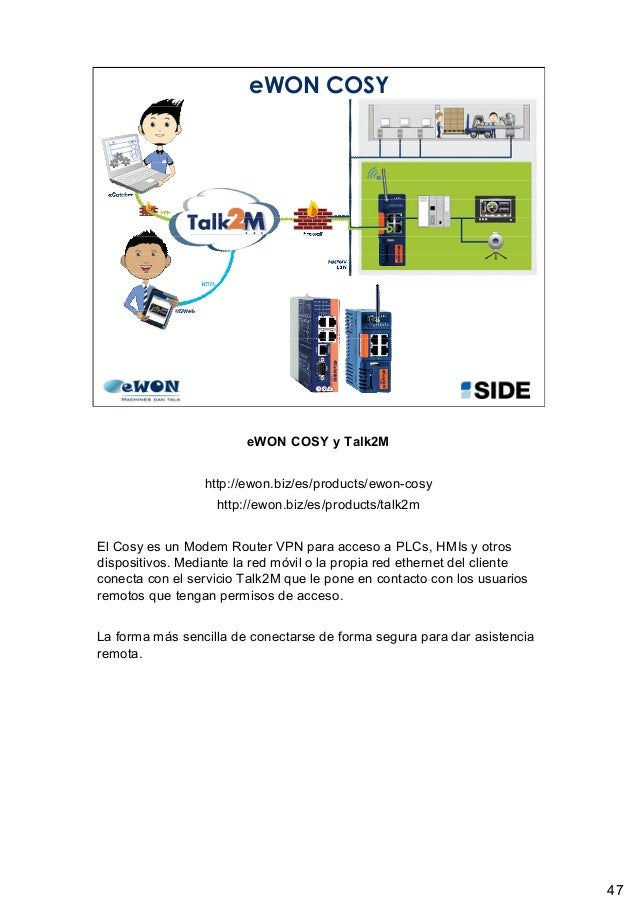 Internet Industrial por SIDE y eWON