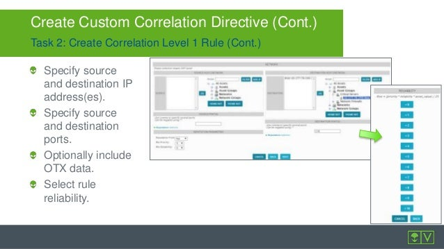 Improve Security Visibility with AlienVault USM Correlation