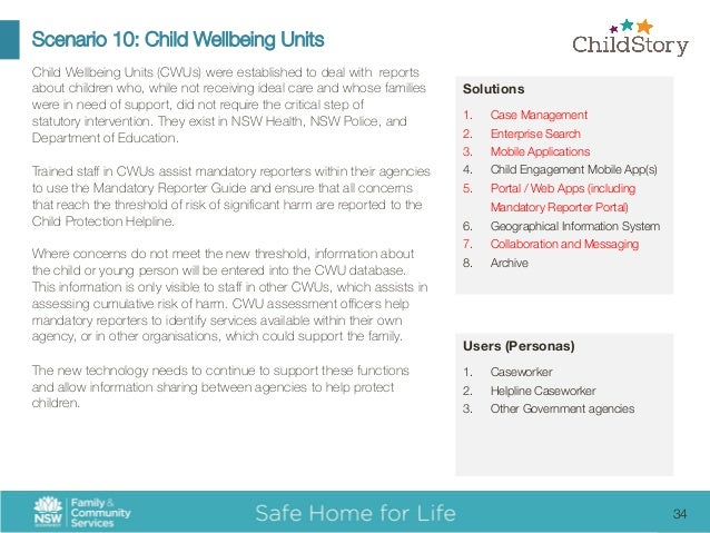 child wellbeing unit mandatory reporter guide