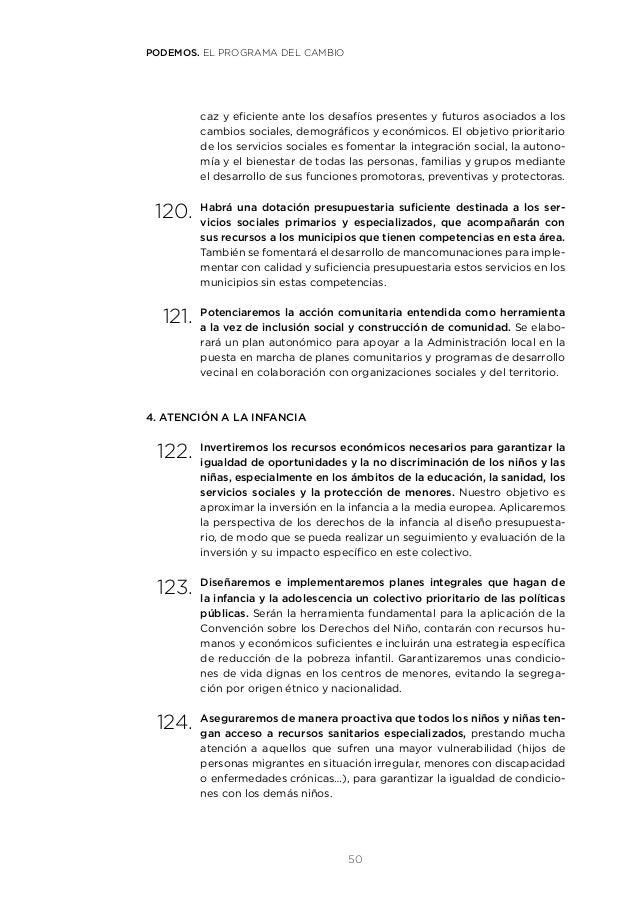 6f3bc69b5e2 El Programa del Cambio  215 Medidas Para un Proyecto de País - Podemos