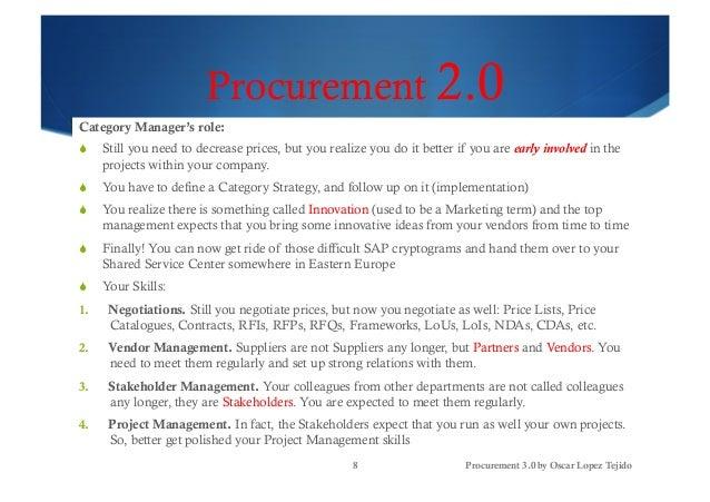 Procurement 3 0