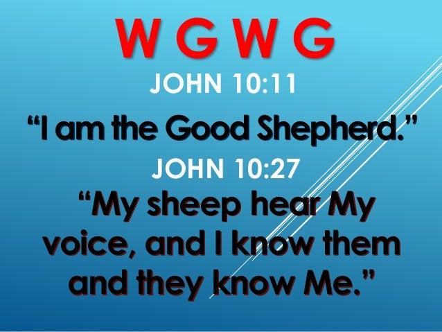 Church Sermon: GW 1 Slide 3