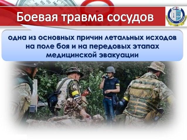 ProPowerPoint.Ru одна из основных причин летальных исходов на поле боя и на передовых этапах медицинской эвакуации
