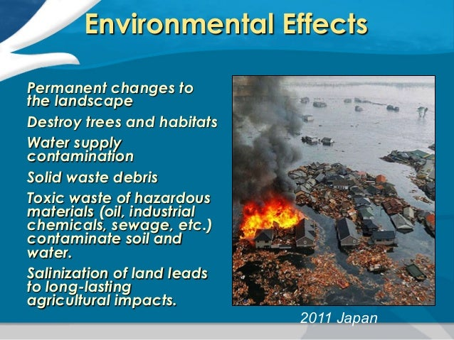 the cause and effects of tsunami Free essay: what exactly are tsunamis tsunamis are immensely strong, long length and long period sea waves tsunamis have caused much grief and sorrow for.