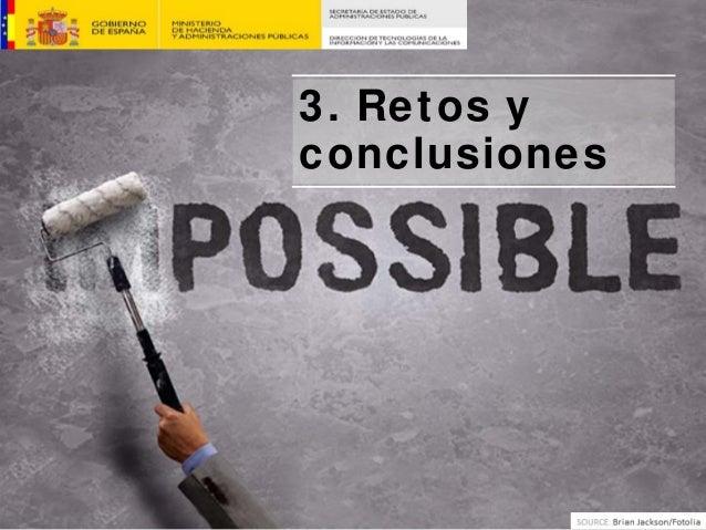 3. Retos y conclusiones