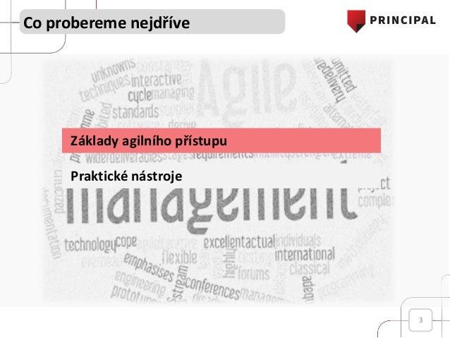 Seznámení s agilním přístupem - A first look at the Agile Slide 3