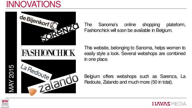 Media news june 2015 for Sanoma magazines belgium