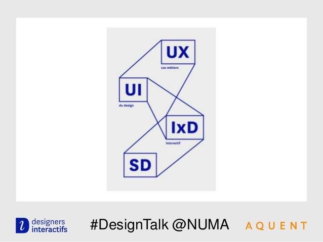 #DesignTalk @NUMA