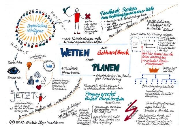 Wetten statt Planen - ThinkTalk bei new&able mit Gebhard Borck