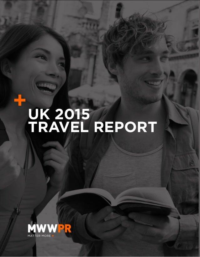 UK 2015 TRAVEL REPORT