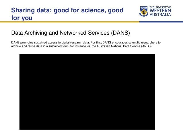 Research Data Management Services at UWA (July 2015) Slide 3