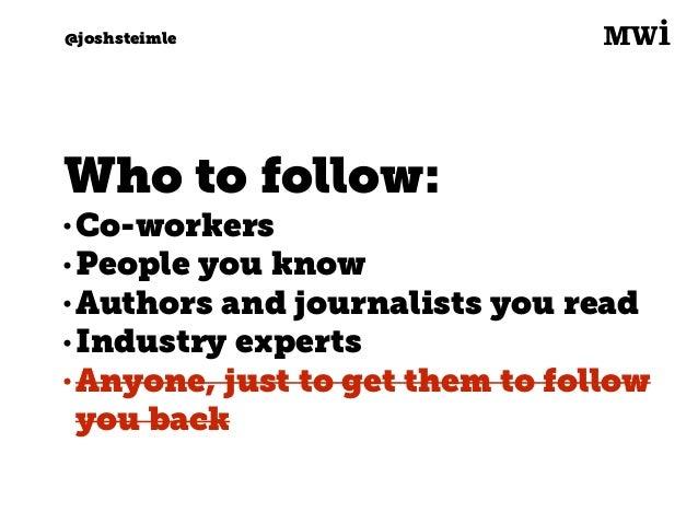 Digital marketing for tech companies. @joshsteimle @joshsteimle Want to keep close tabs?