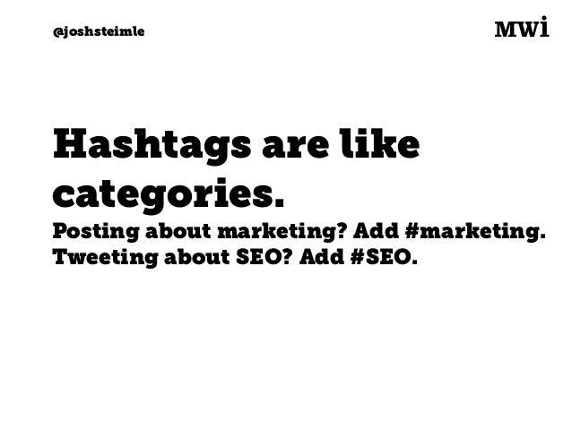 Digital marketing for tech companies. @joshsteimle @joshsteimle #7. Search.