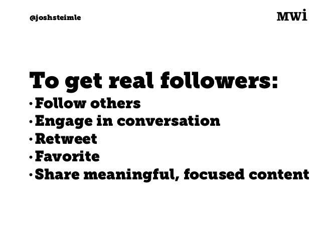 Digital marketing for tech companies. @joshsteimle @joshsteimle Sprout Social. Best for: • Multiple users managing lots of...