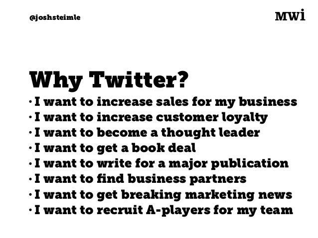 Digital marketing for tech companies. @joshsteimle @joshsteimle Let's get started.