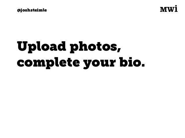 Digital marketing for tech companies. @joshsteimle @joshsteimle #2. Q: Desktop or app?