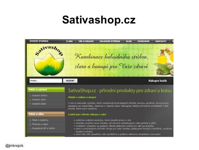 Sativashop.cz @jirikrejcik