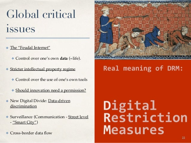 Digital Opportunities and Discriminations ✤ Thinking through 3 key elements of Digital Age ✤ Data (including Identity) ✤ ...