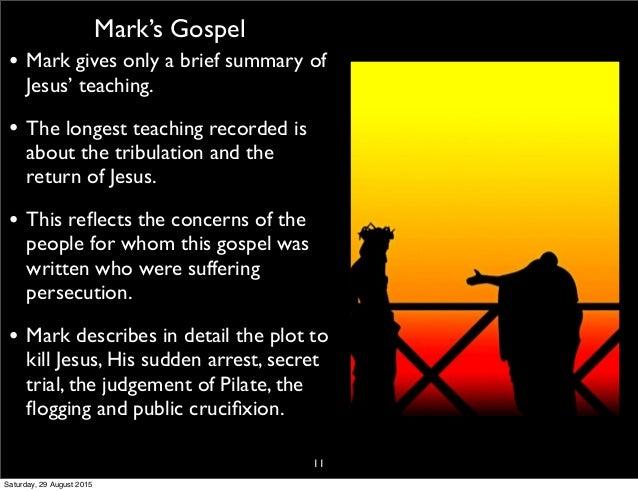 summary of mark