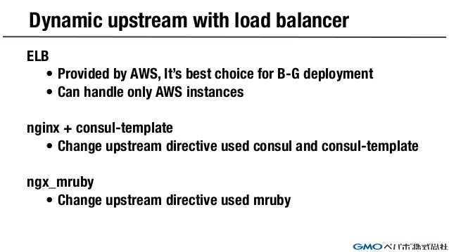 Advanced technic for os upgrading in 3 minutes for Consul load balancing